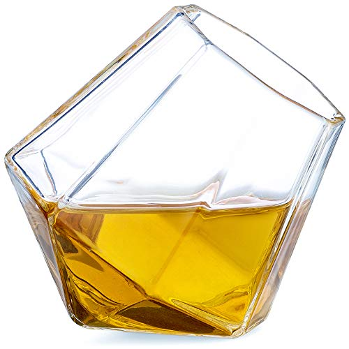 Dragon Glassware Diamond Shot Glasses, 2-Ounce, Set of 4
