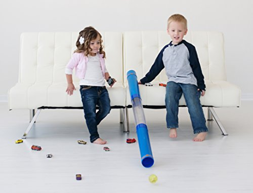 Tot Tube Playset - Toy Car and Ball Tunnel Ramp Race Track