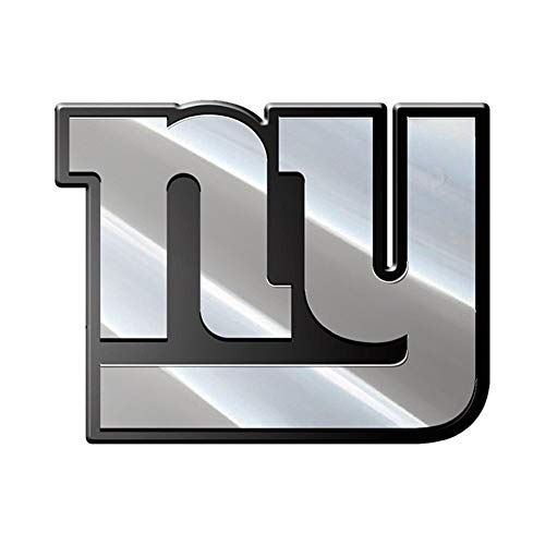 NFL New York Giants Premium Metal Auto Emblem