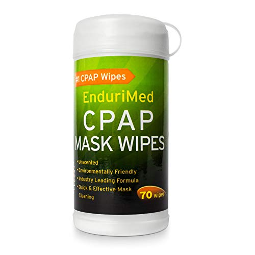 CPAP Wipes, Unscented, Super Strong, Soft, Lint Free, 100% Skin Safe CPAP Cleaning Wipes – Hygienic Formula - CPAP Cleaning Mask Wipes for Home & Travel (70 Wipes)