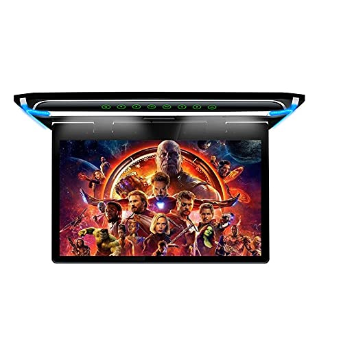 15.6 Inch Ultra-Thin FHD Digital TFT Screen 1080P Video Car Overhead Player Roof Mounted Monitor HDMI Port