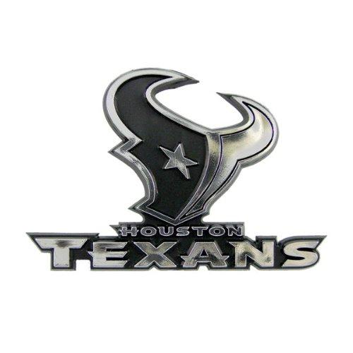 Houston Texans Car 3D Chrome Auto Emblem