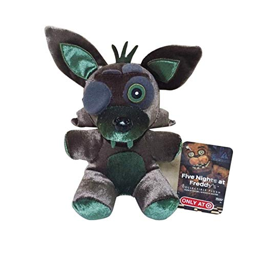 ZIETNAL 18cm FNAF Five Nights at Freddy's 4 Nightmare Foxy Fox Stuffed Plush Toys Soft Toy Doll Gifts for Children Kids