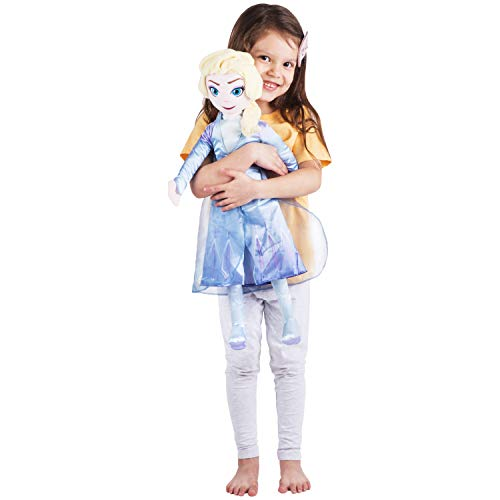 Franco Kids Bedding Super Soft Plush Cuddle Pillow Buddy, One Size, Disney Frozen 2 Elsa