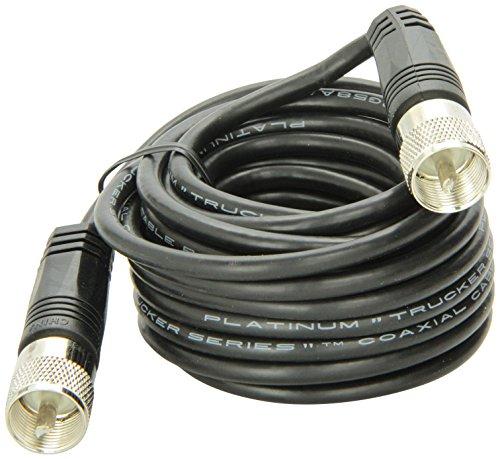 18' RG-58A/U Coaxial Cable With Pl-259 Connectors