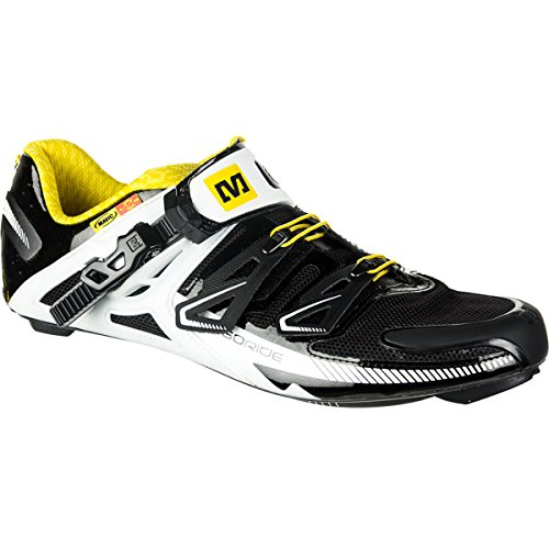 Mavic Zxellium Shoe - Men's Black/White, 9.0