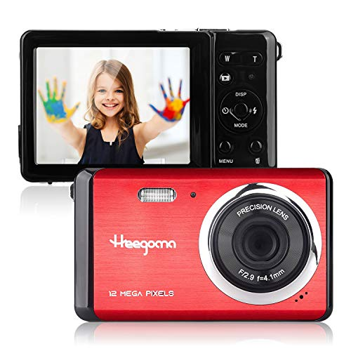 HD Digital Camera with 2.8 Inch TFT LCD Screen 8X Digital Zoom Rechargeable Compact Camera,Lightweight Point and Shoot Camera Pocket Cameras for Kids,Beginner,Student,Teens