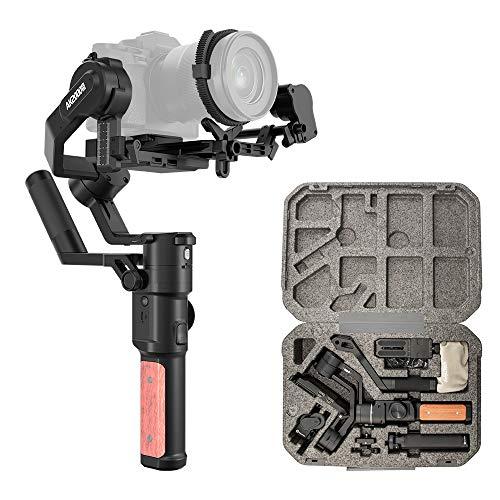 FeiyuTech Official AK2000S Advanced Handheld Camera Gimbal Stabilizer for Sony a7RIII a7III a7SII a7RII a7II a9 Canon EOS R EOS RP M6 Mark II EOS 200DII Panasonic GH4 G9 Nikon Z6 Z7 Follow Focus