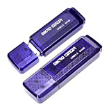 Micro Center SuperSpeed 2 Pack 64GB USB 3.0 Flash Drive Gum Size Memory Stick Thumb Drive Data Storage Jump Drive (64G 2-Pack)