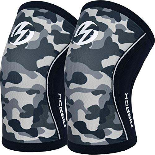 Elbow Sleeves (Pair),Support for Cross Training,Weightlifting,Powerlifting,Basketball and Tennis,5mm Neoprene Compression Brace for Both Women and Men(Large)