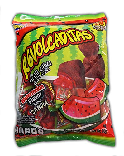 Jovy Revolcaditas with Chili Watermelon | 6oz Bag | Spicy Candy