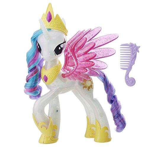 My Little Pony the Movie Glitter and Glow Princess Celestia Unicorn Toy Pony Figure