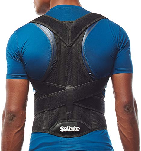 Back Brace Posture Corrector for Men and Women - Adjustable Posture Back Brace for Upper and Lower Back Pain Relief - Muscle Memory Support Straightener (XL)