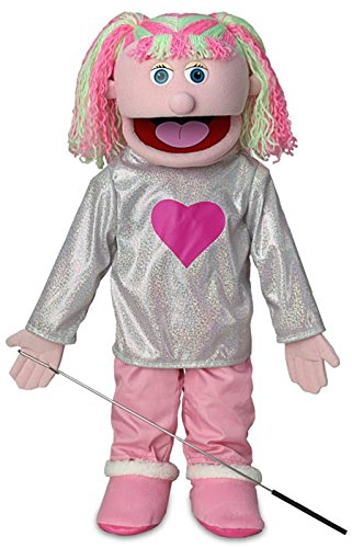 25' Kimmie, Pink Girl, Full Body, Ventriloquist Style Puppet