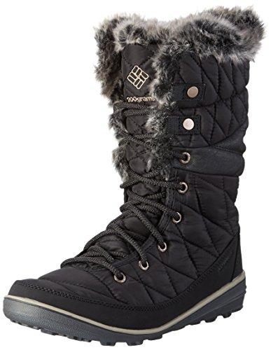 Columbia Women's Heavenly Omni-Heat Snow Boot, Black, Kettle, 6