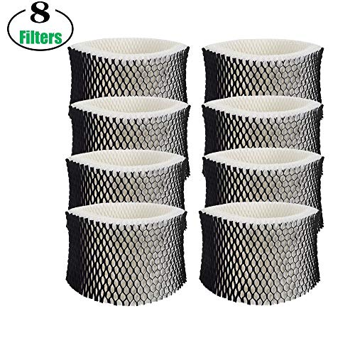 Lxiyu 8-Pack Humidifier Wicking Filter for Holmes Humidifier Replacement Filter HWF62 & HWF62CS, Filter A (8pack)