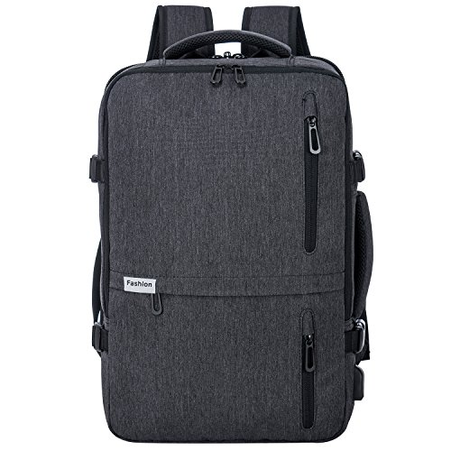 Travel Laptop Backpack 35L Flight Approved Carry On Weekender Bag Backpack expandable with USB Charging Port Smart Organized
