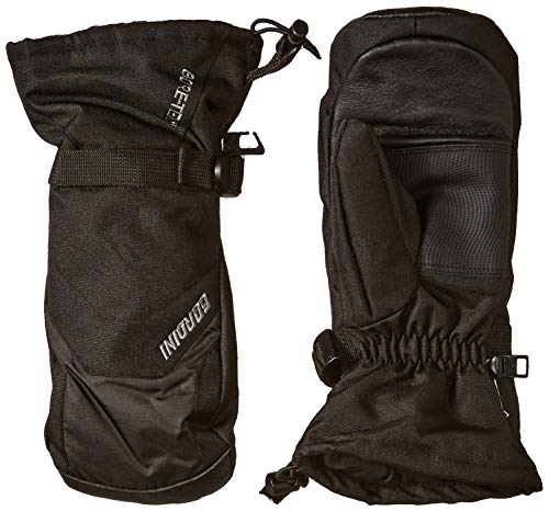 Gordini Men's Gore Gauntlet Mitten, Black, Large