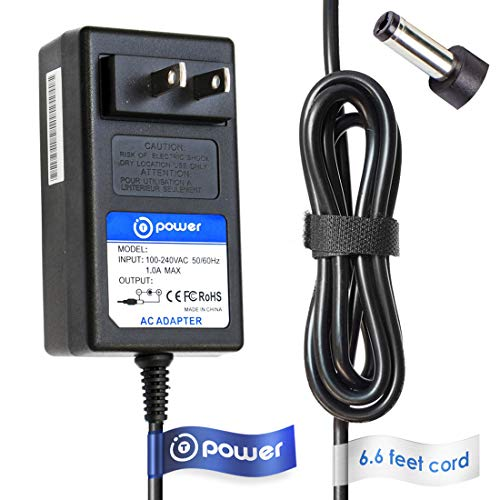 T POWER Ac Dc Adapter Charger Compatible with Yamaha PA-300C PA300C P-120 P120 PSR s550 s550b s700 s710 s900 s910, PSR-2100 OR700 S900 Piano Keyboard AW16G Workstation Power Supply Cord
