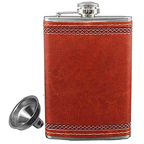 Hip Flask for Alcohol Whiskey Liquor Flask 9 oz with Funnel Personalized Wine Drinking Flasks
