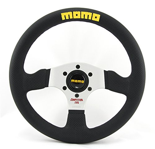 Momo MOMVCOMPEVO32BK – Competition Evo Steering Wheel, Size 32