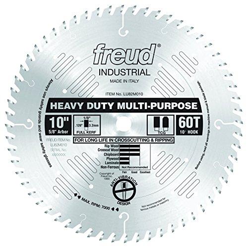 Freud LU82M010 10' Heavy Duty Multi-Purpose Blade