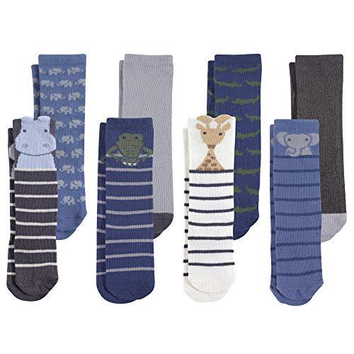 Hudson Baby Baby Cotton Rich Knee-High Socks, Safari Boy, 12-24 Months