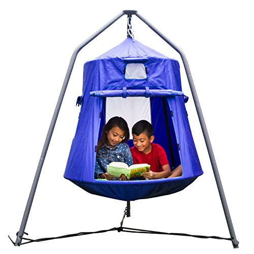 Sportspower BluPod Extra Large Hanging Tent, Blue
