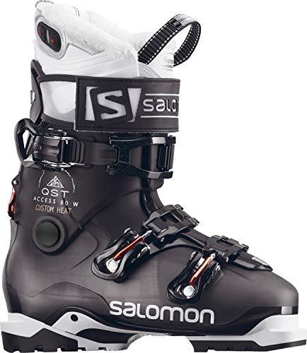 Salomon QST Access Custom Heat Ski Boots Womens Sz 9.5 (26.5)