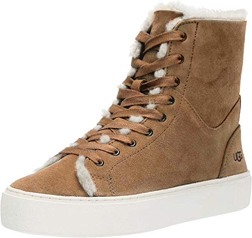 UGG Women's BEVEN Sneaker, Chestnut, 7 M US