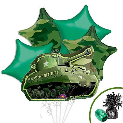 Costume SuperCenter Army Party Supplies Balloon Kit
