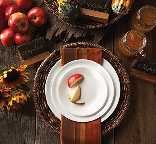 Corelle Livingware 32-Piece Dinnerware Set, White