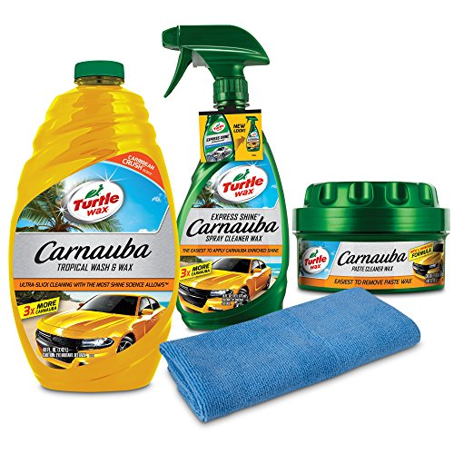 Turtle Wax Complete Carnauba Wash & Wax Kit