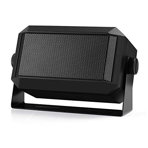 Radioddity CB Mobile Radio External Speaker, Mini Universal Portable 5W, 71' Power Cable, for Car Truck Vehicle 4 x 4, Compatible with Radioddity CB-27 Icom ID-5100 Yaesu FT-891 Midland MXT115