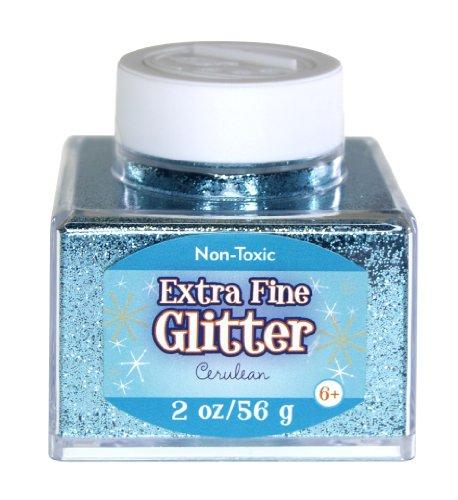 Sulyn SUL51828 Glitter Stacker Jar- 2oz. , Cerulean