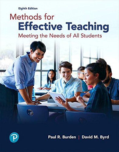 Methods for Effective Teaching: Meeting the Needs of All Students, with Enhanced Pearson eText -- Access Card Package (What's New in Curriculum & Instruction)
