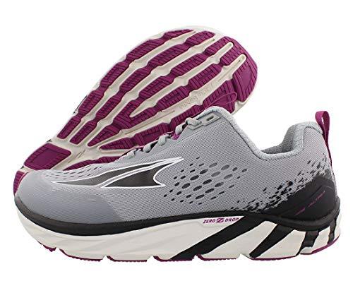 ALTRA Women's Torin 4 Road Running Shoe, Gray/Purple - 8 M US