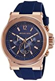 Michael Kors Men's Dylan Rose Gold-Tone Watch MK8295