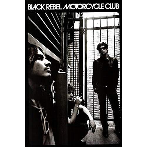 Picture Peddler Laminated Black Rebel Motorcycle Club Poster Group Shot 24x36