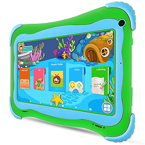 7 inch Kids Tablet Android 10 Toddler Tablet 32GB Dual Cameras Kids APP Preinstalled & Parent Control Kids Tablets WiFi Learning Tablet for Toddlers,YouTube Netflix Google Play Store