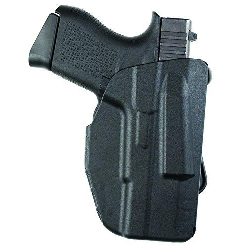 Safariland, 7371, ALS Concealment Paddle Holster, Fits: Glock 43, Black - STX Plain, Right Hand (1198519)