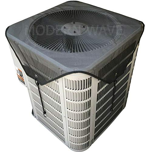 MODERN WAVE Central Air Conditioner Cover for Outside Units 36 x 36 - Top Universal Outdoor AC Cover Defender (Mesh, 36' x 36')