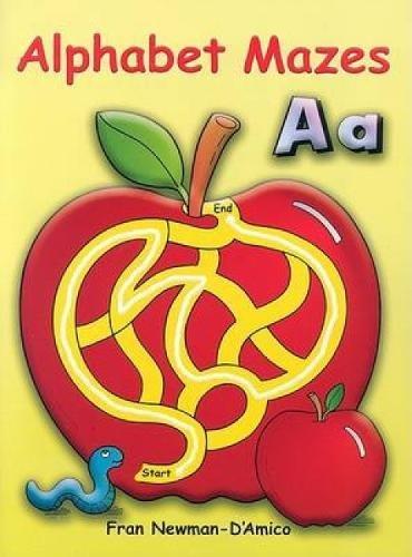 Alphabet Mazes (Dover Children's Activity Books)