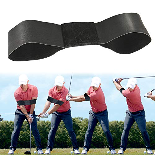 Rmolitty Golf Swing Trainer, Golf Training Aids for Beginner Wrist Hinge Swing Trainer Smooth Swing Correcting Tools (arm Training aids)
