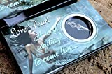 Mermaid Love Wish Pearl Kit Chain Necklace Kit Pendant Cultured Pearl in Kit Set with Stainless Steel Chain 16'