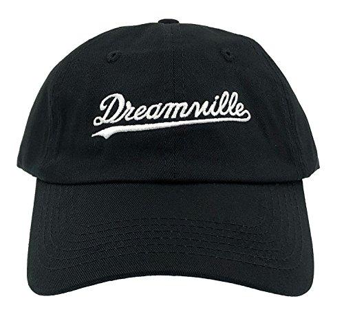 Dream Hat Born Sinner Crown Dad Hat Baseball Cap Embroidered Adjustable, Black, One Size