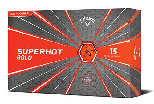 Callaway Golf Superhot Bold Matte Golf Balls Prior Generation (Orange)