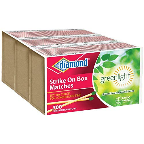 Diamond- Strike ON Box Matches [3 BXS of 300] (Original Version)