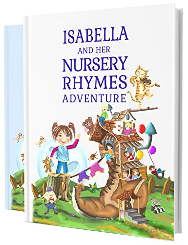 Personalized Nursery Rhymes Book for Baby, Newborns and Toddlers, A Wonderful Keepsake Present for Any Child 0-4 Years