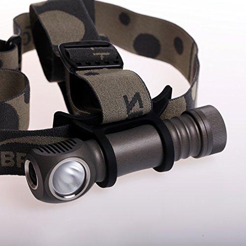 Zebralight H600Fd Mk IV 18650 XHP50.2 Floody 5000K High CRI Headlamp